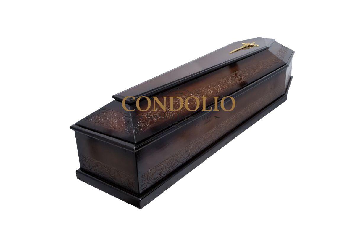 sicriu s12 stil italian, lemn brad